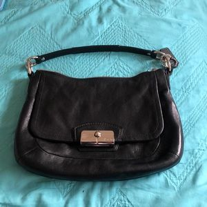 black coach purse